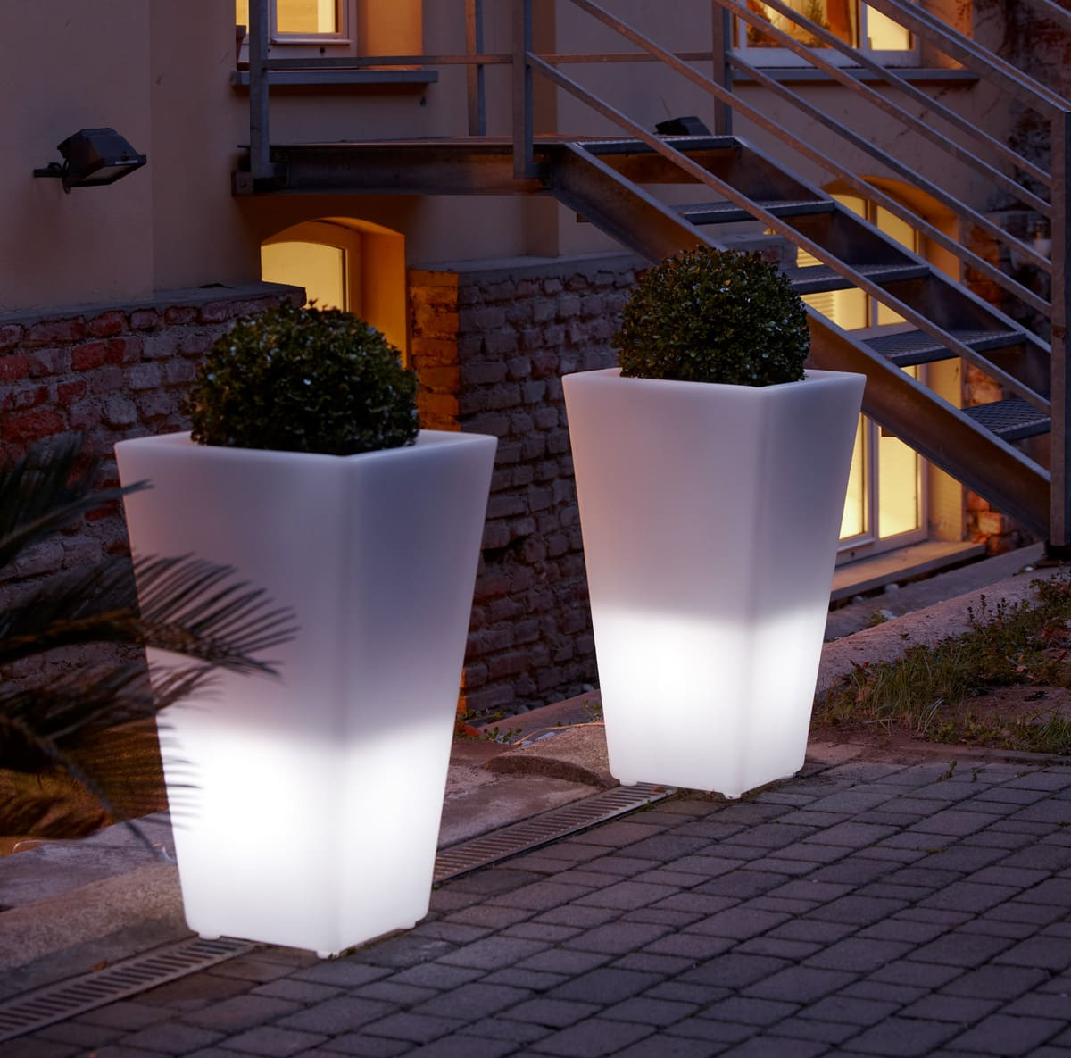 Beleuchtete Vasen Outdoor online kaufen