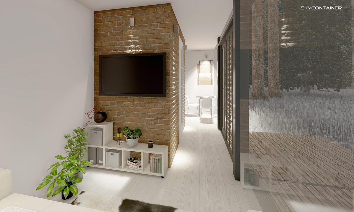 Minihaus - Fertighäuser und Öko-Holzhäuser von Living Home Skydesign