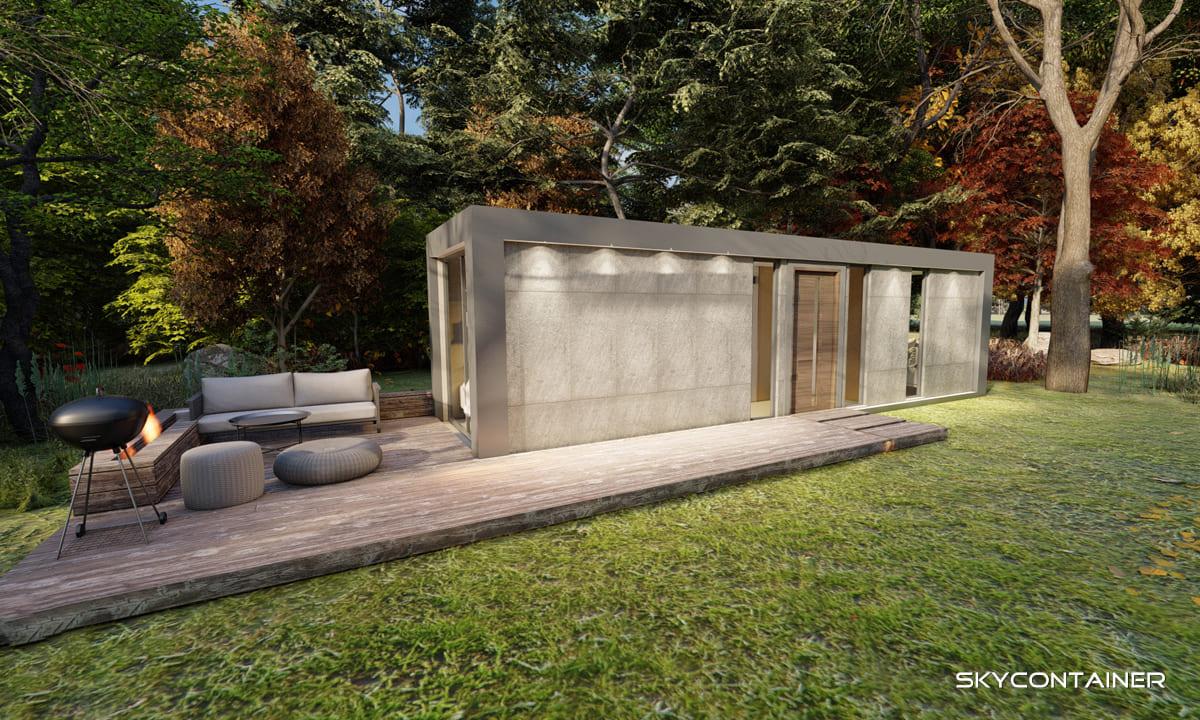 Wie lange hält ein Container Haus?