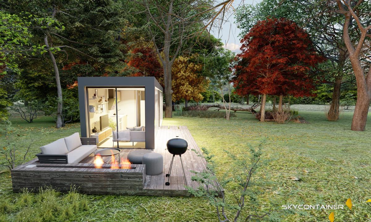 Wo darf man ein Container Haus aufstellen?